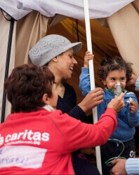 Caritas International Vrijwilligerswerk