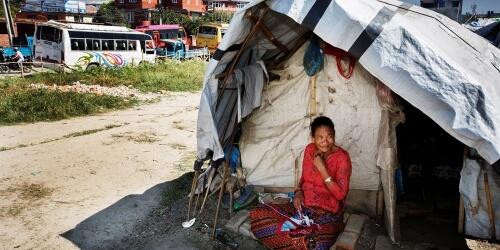 Caritas International Aide aux communautés touchées par le tremblement de terre au Népal en 2015