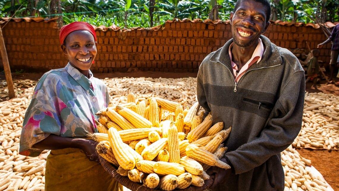 Caritas International Une alimentation disponible et durable dans 3 communes de la région du Moso