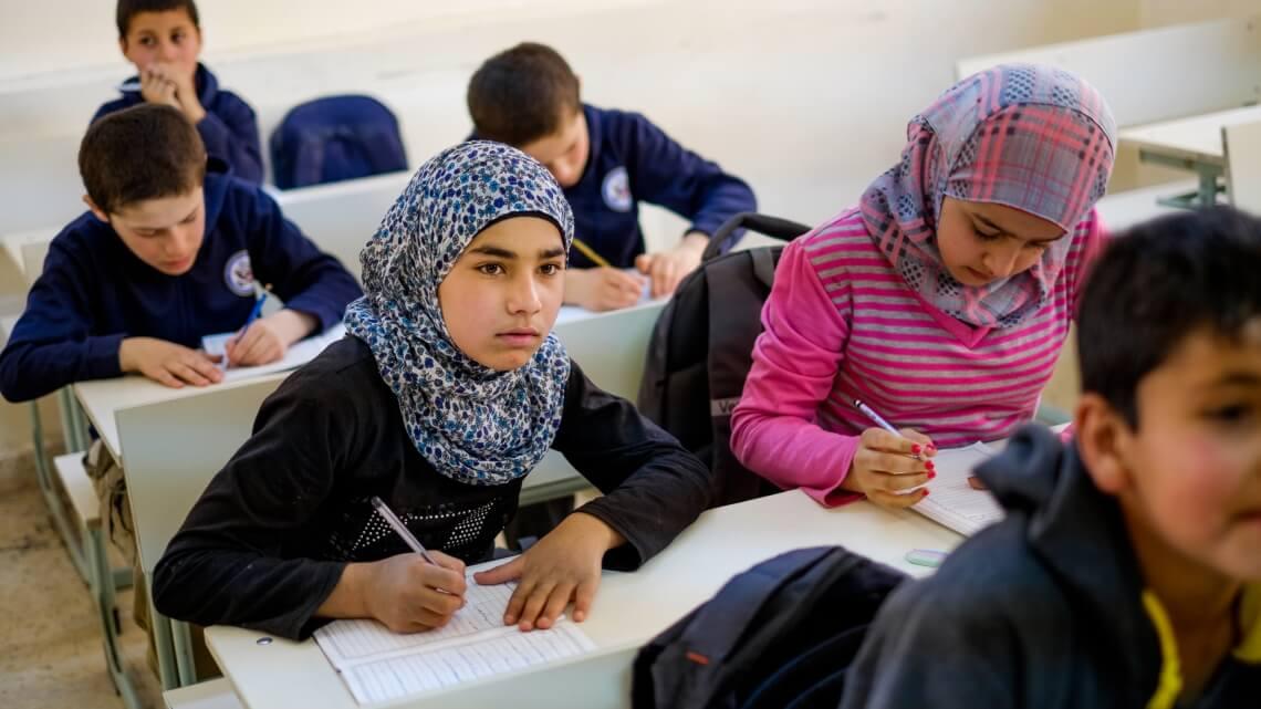 Caritas International Programme d'éducation pour les enfants réfugiées syriens et des communautés hôtes