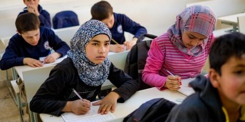Caritas International Onderwijsprogramma voor Syrische vluchtelingenkinderen en hun gastgemeenschappen