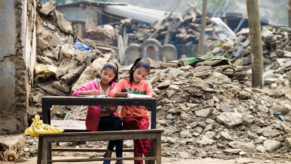 Caritas International  Népal, 1 an après le tremblement de terre le plus dévastateur depuis 80 ans