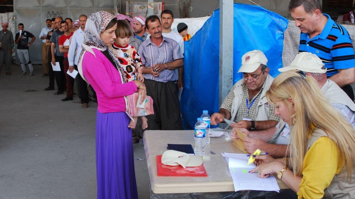 Caritas International  8,2 miljoen mensen in Irak hebben nood aan humanitaire hulp