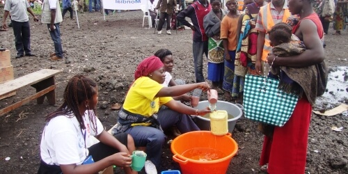 Caritas International  Humanitaire hulp voor 2.578 ontheemde families in Ngangi