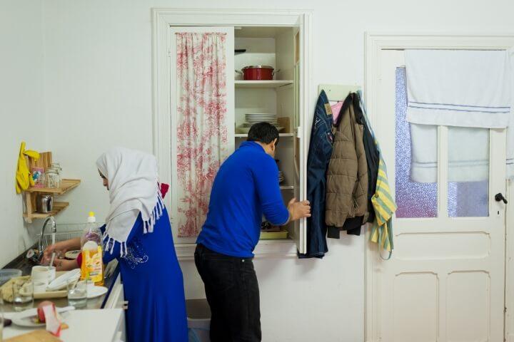 Caritas International 10.000 vluchtelingen zoeken een huurwoning