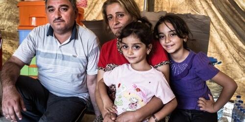 Caritas International Programma ter ondersteuning van kinderen en families in Bagdad, Erbil, d'Algosh en Kirkuk