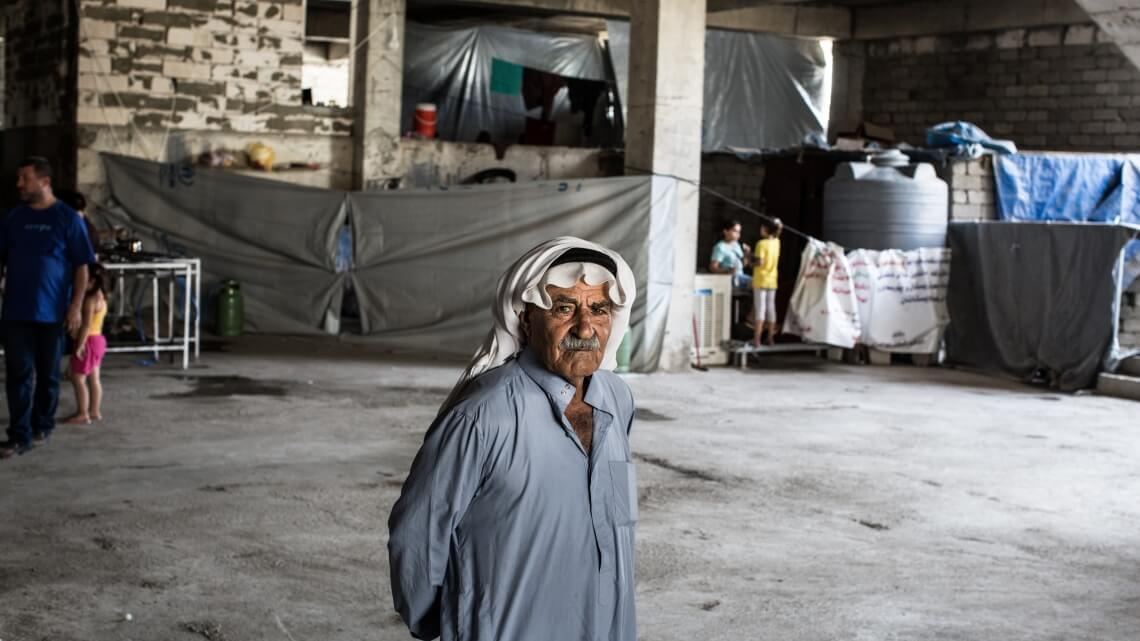 Caritas International Assistance humanitaire auprès des déplacés dans le Nord de l'Irak