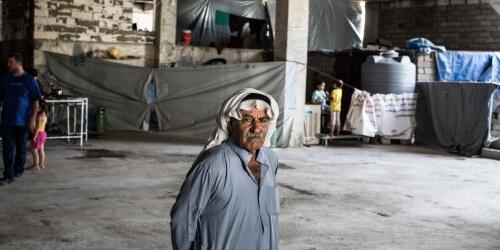 Caritas International Humanitaire hulp aan ontheemden in het noorden van Irak