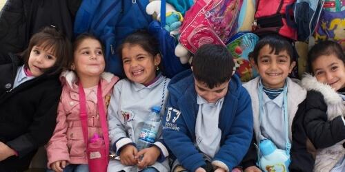 Caritas International Socio-educatieve integratie van vluchtelingenkinderen en Libanese kinderen (Furn El Chebbak)