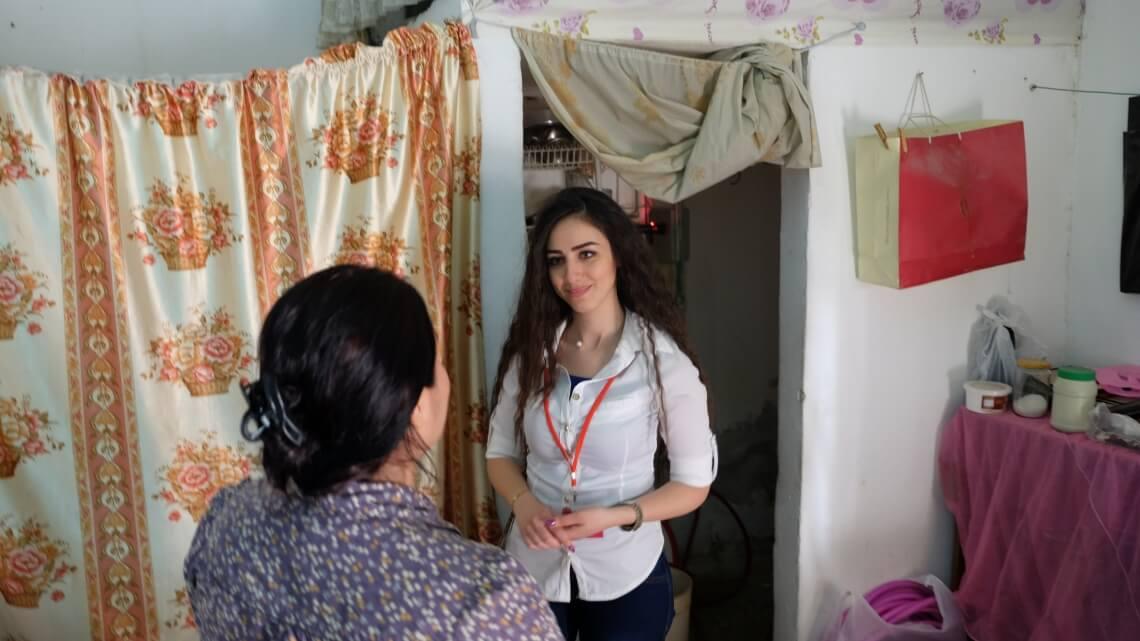 Caritas International Aide d'urgence aux syriens déplacés et aux communautés locales