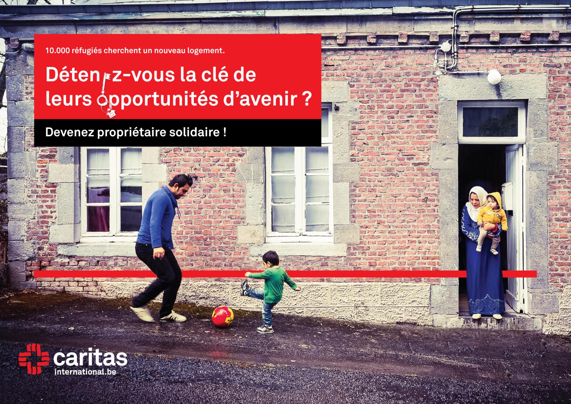 Caritas International 10.000 réfugiés cherchent un nouveau logement