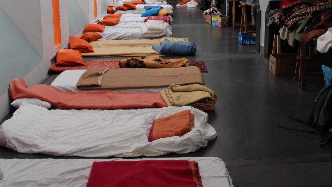 Caritas International Un accueil d'urgence pour les demandeurs d'asile les plus vulnérables