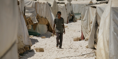 Caritas International Les capacités d'accueil épuisées en Jordanie