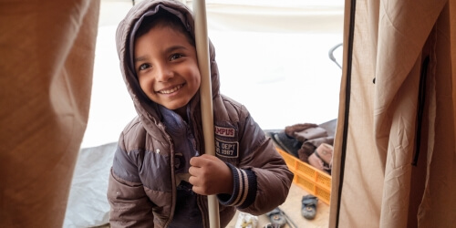 Caritas International Êtes-vous prêt à aider un réfugié à se loger ?
