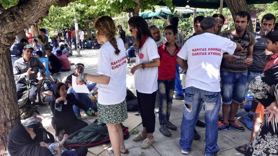 Caritas International The Greek impasse