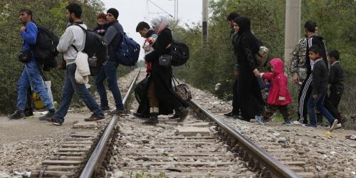 Caritas International Les réglementations européennes en matière de migration poussent les plus désespérés à emprunter des routes mortelles