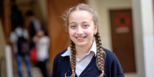 Caritas International Het verhaal van Sara