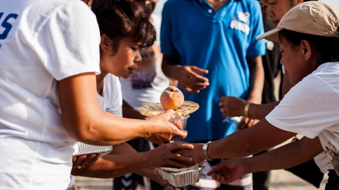Caritas International « Solidaire sur la route de tous les dangers »