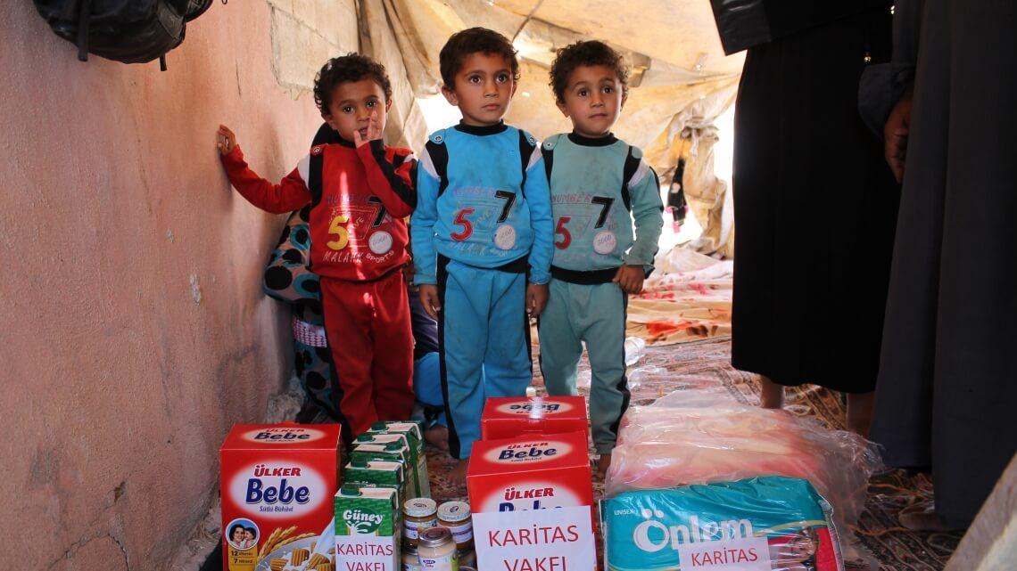 Caritas International La Turquie a accueilli le plus grand nombre de réfugiés