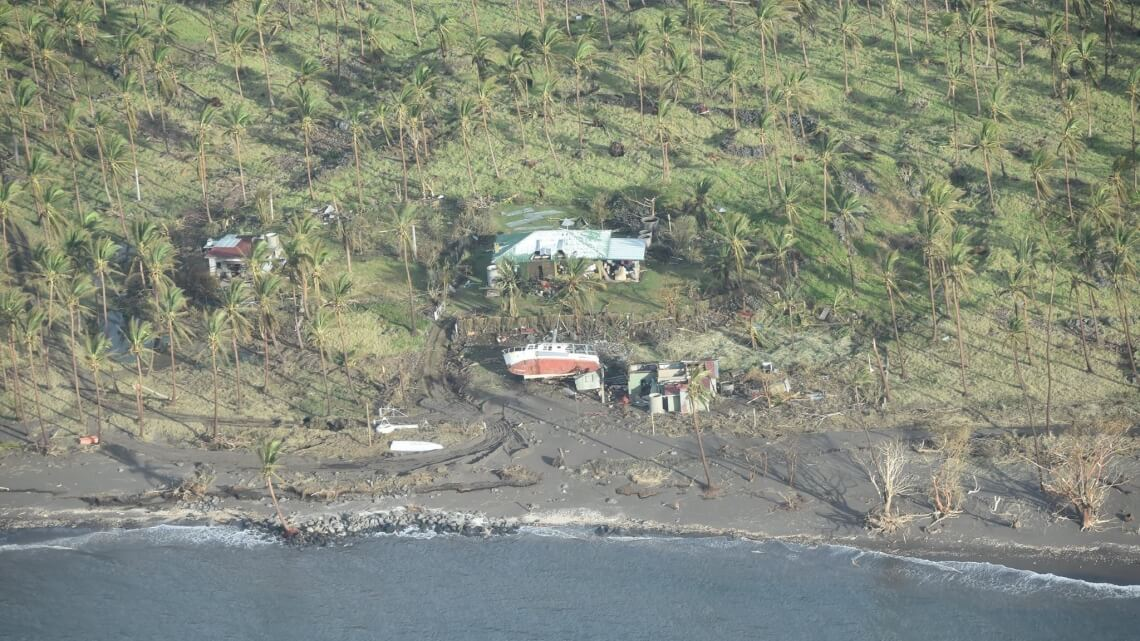Caritas International WINSTON, le plus violent cyclone de l'hémisphère sud !