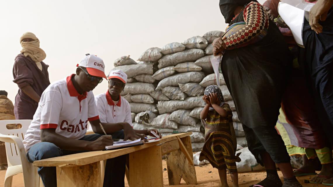 Caritas International Steunproject voor het Nationaal Uitvoerend Secretariaat van CADEV Niger