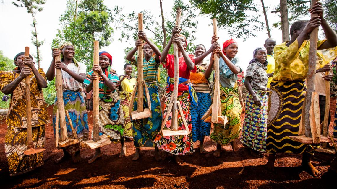 Caritas International  Steunprogramma ter ontwikkeling van de landbouwgemeenschappen van de Grote Meren