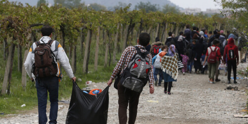 Caritas International  The refugee situation: calling on the fundamental values of Europe!