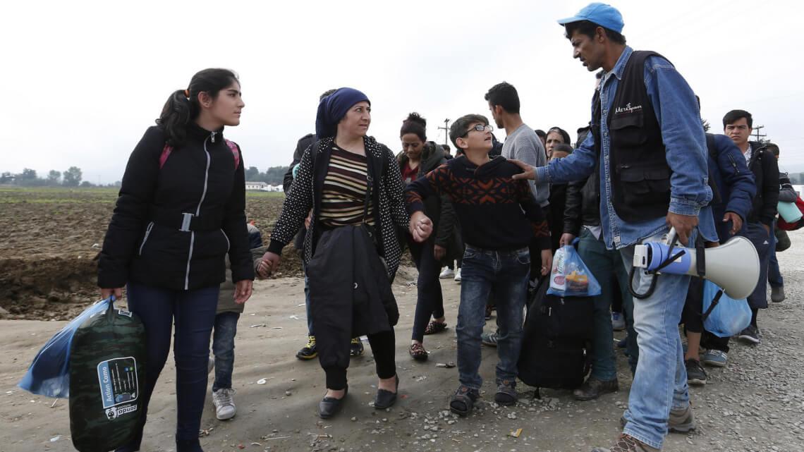 Caritas International La situation des réfugiés : faisons appel aux valeurs fondamentales de l'Europe !
