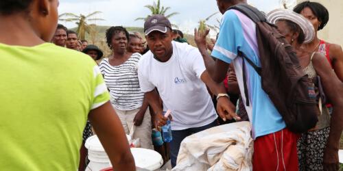 Caritas International Caritas apporte une aide urgente