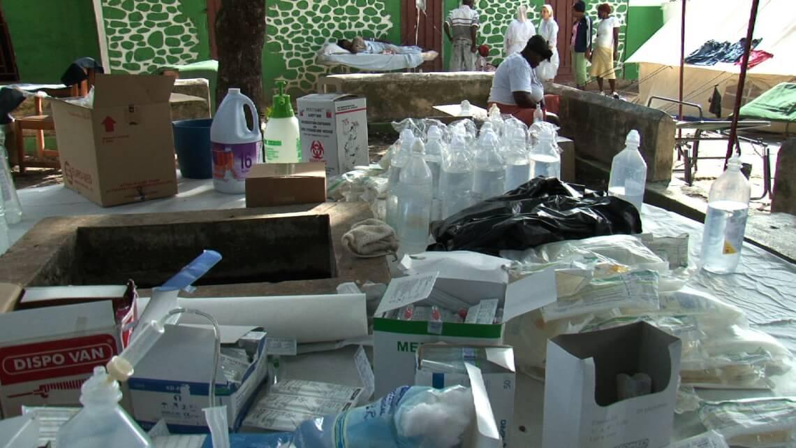 Caritas International Lutte contre le choléra