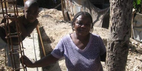 Caritas International Construction de maisons permanentes à Port-au-Prince