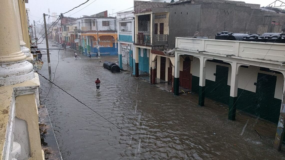 Caritas International  L'ouragan Matthew cause d'importants dégâts en Haïti