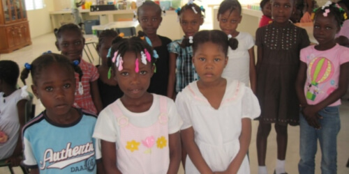 Caritas International Reconstruction d'un orphelinat