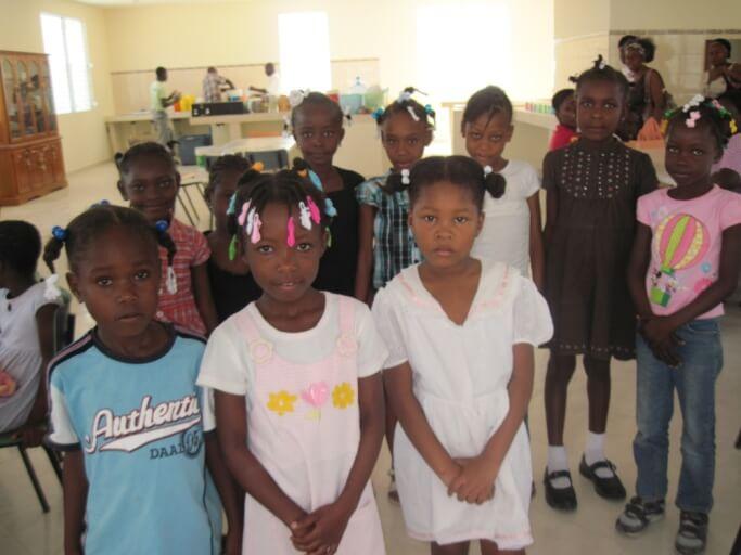 Caritas International Heropbouw van een weeshuis