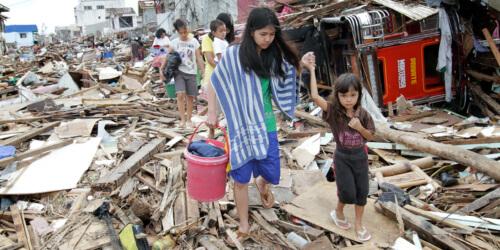 Caritas International Typhon Haiyan : trois mois plus tard