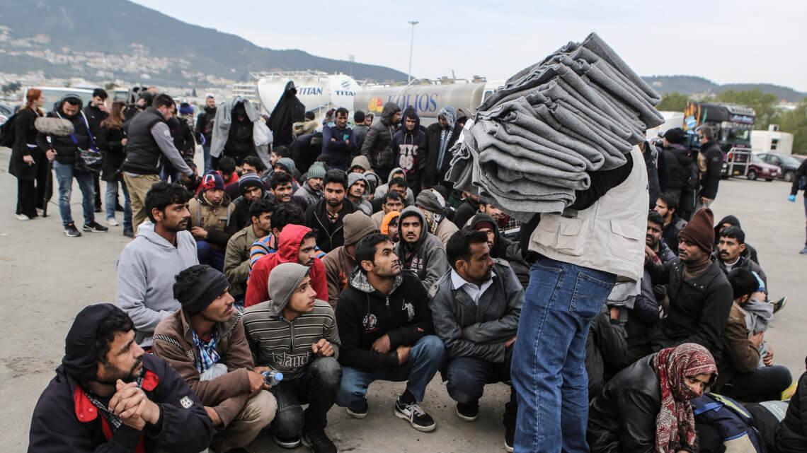 """Caritas International """"Nog elke dag komen er boten aan op de Griekse eilanden"""""""