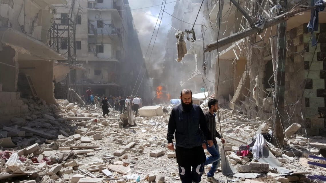Caritas International Un témoin raconte l'horreur d'Alep