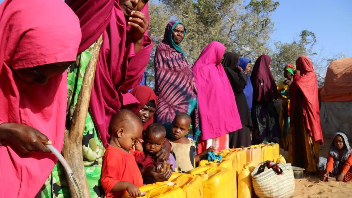 Caritas International Honger en cholera in Somalië