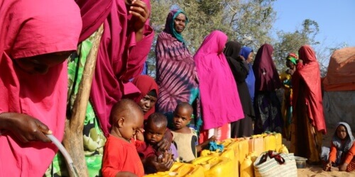 Caritas International  Famine and cholera in Somalia