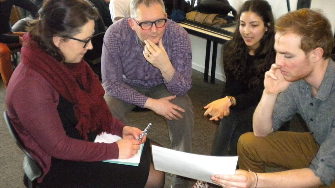 """Caritas International  Studiedag i.s.m. AP Hogeschool Antwerpen """"Hoe kunnen we het samenleven met vluchtelingen bevorderen?"""""""