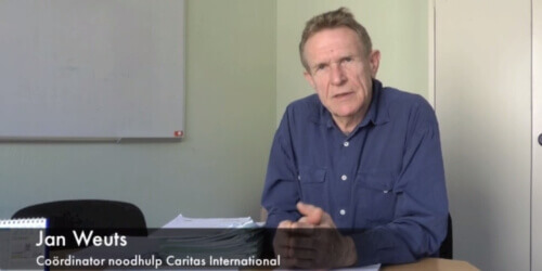 Caritas International Jan Weuts, noodhulpcoördinator, over Zuid-Soedan