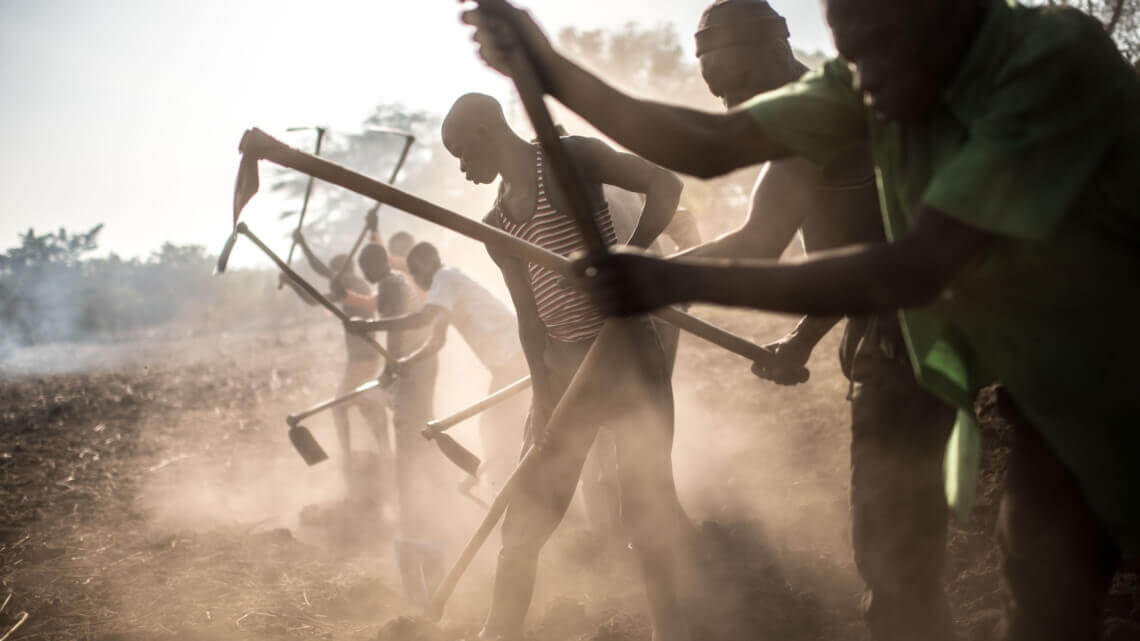 Caritas International Jan Weuts, noodhulpcoördinator, over Zuid-Soedan