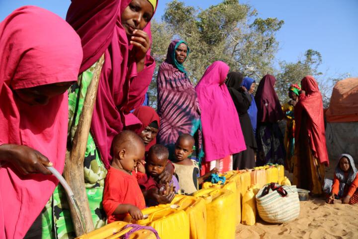 Caritas International L'aide en marche