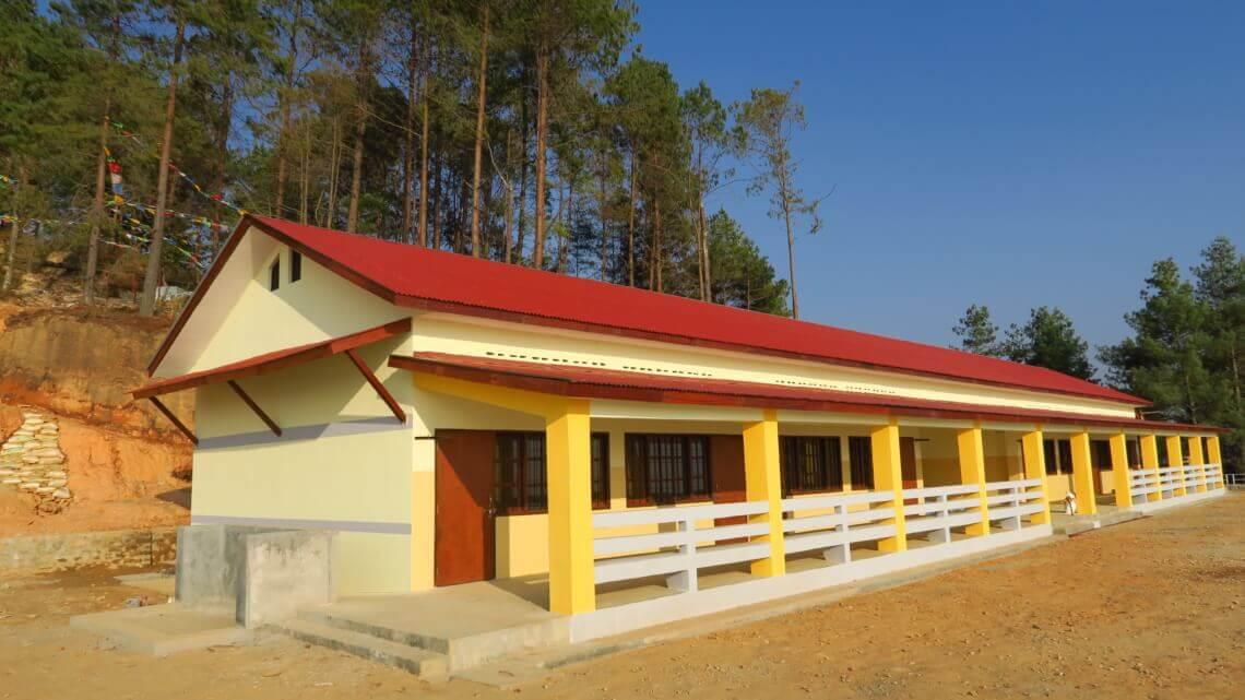 Caritas International Nepal, 2 jaar na de aardbevingen: heropbouw en onderwijs blijven onze grootste zorg