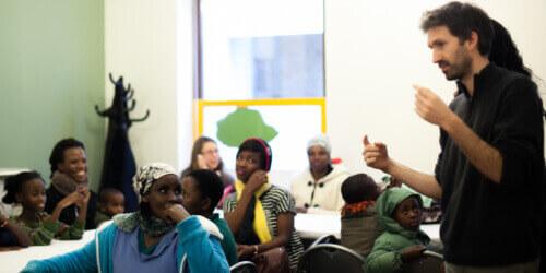 Caritas International  Caritas International et Convivial évincés du programme de réinstallation en Belgique