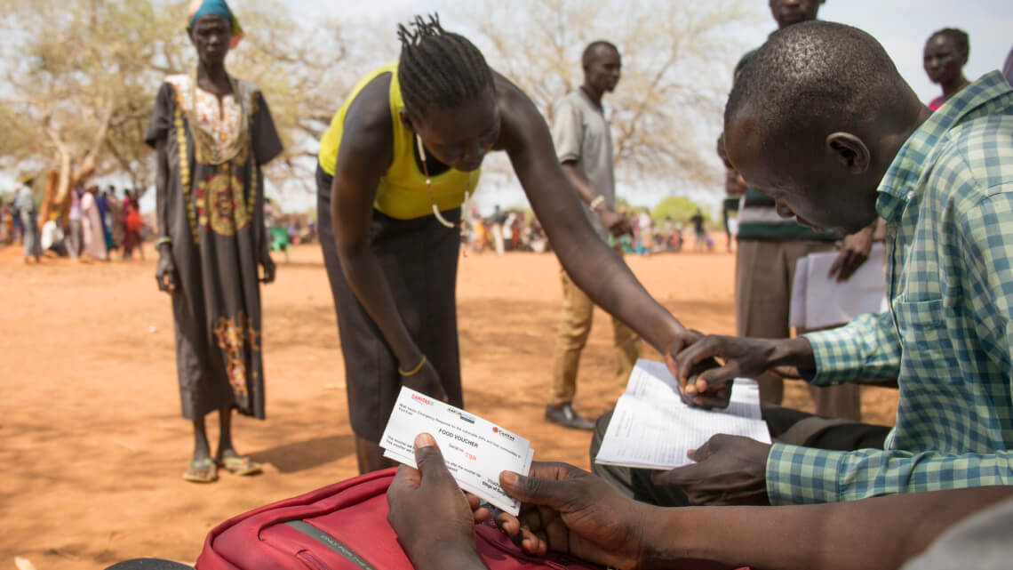 Caritas International Drie maanden na de nationale oproep: overzicht van onze strijd tegen de hongersnood