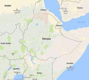 Carte d'Ethiopie
