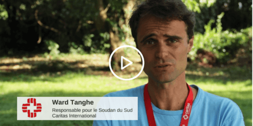 Caritas International Ward Tanghe à propos du camp de Bidi Bidi en Ouganda