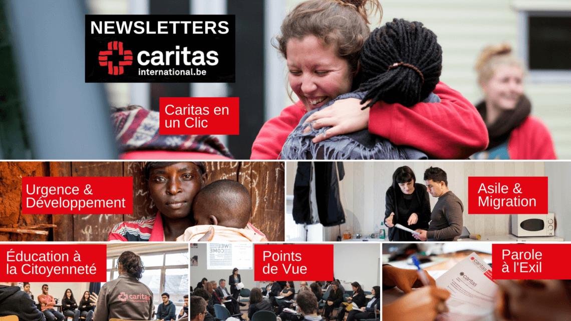 Caritas International DU SUR-MESURE AU PLUS PRÈS DE VOS INTÉRÊTS
