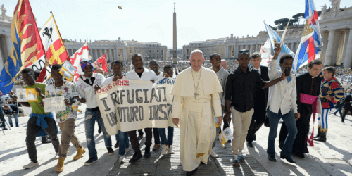 Caritas International Paus Franciscus en Caritas lanceren de wereldwijde campagne « Samen op weg »